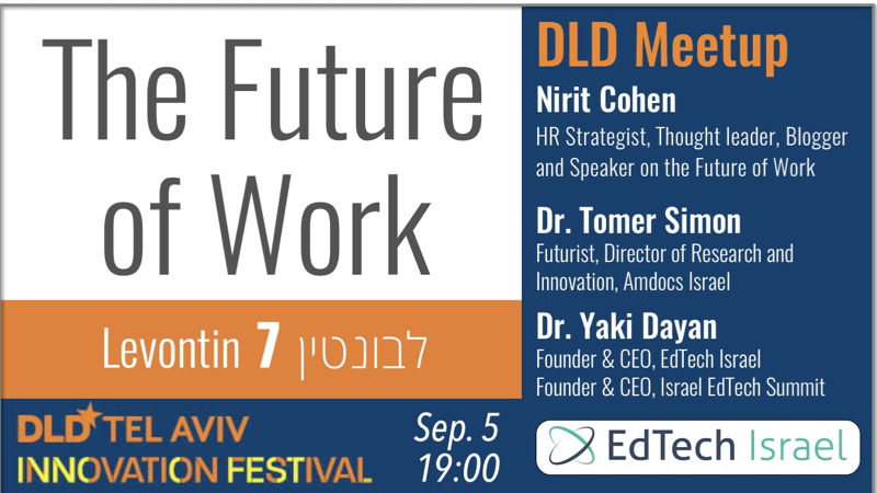 The Future of Work – DLD2018 Meetup