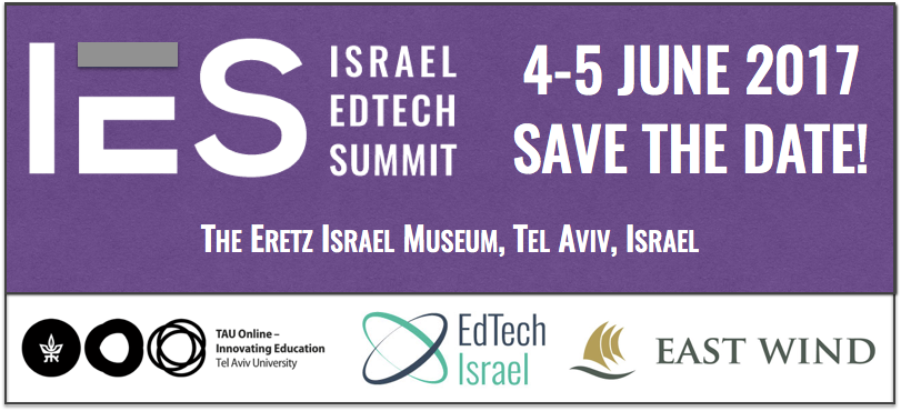IES2017 - 4-5 June 2017, Tel Aviv. Save the date!